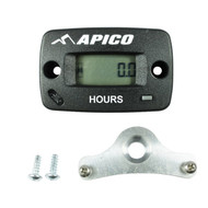 Apico | Hour/Tach Meter | Wireless Type With Mounting Bracket (APHOUR METER W/L INC)