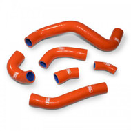 Gas Gas EC 350F (4T) 2021 6 Piece OEM Replacement Samco Sport Silicone Radiator Coolant Hose Kit (SHK125-)