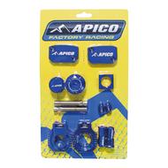 Apico | Factory Bling Kit | SX125 16-22 | SX/SX-F250-450 14-22 | TC/FC250-450 2022 | MC125-450 21-22 | (See Description) | Blue