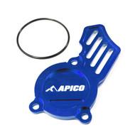 Apico | Oil Pump Cover | SX-F/FC/MC-F250-350 16> | EXC-F/FE/EC-F 250-350 17> | (See Description) | Blue