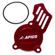 Apico | Oil Pump Cover | SX-F/FC/MC-F250-350 16> | EXC-F/FE/EC-F 250-350 17> | (See Description) | Red