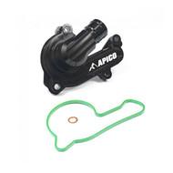 Apico | Water Pump Cover | SX-F/FC/MC-F 250-350 16-22 | EXC-F/FE 250-350 17-22 | Black