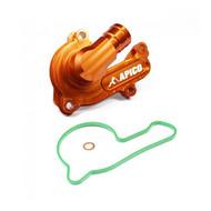 Apico | Water Pump Cover | SX-F/FC/MC-F 250-350 16-22 | EXC-F/FE 250-350 17-22 | Orange