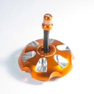 Apico | Alloy Fuel Cap | SX/SX-F/TC/FC/MC/MC-F 85-450 | 2013-2022 | (See Description) | Orange