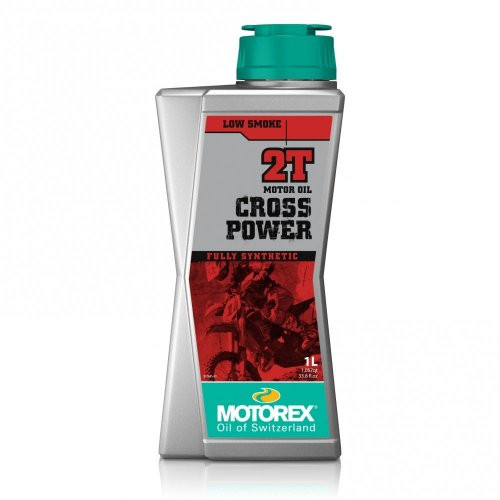 Motorex Cross Power 2T 1 Litre.  Fully synthetic, high-performance engine oil for 2-stroke motorcycles. As recommended by KTM.