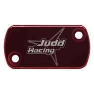 Judd | Front Brake Master Cylinder Cover | CR/CRF/CRFX/KXF (See Description) | Red