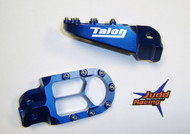 X8 Talon Foot Pegs KTM Blue