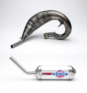 Scalvini Full Exhaust System Suzuki RM 250 with Silencer