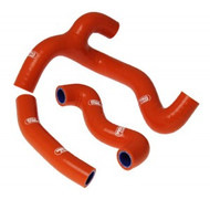 KTM SX50 2012-2019 Samco Sport Silicone Hose Kit - Orange