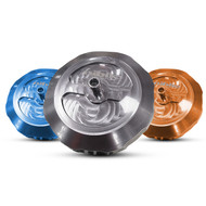 KTM Husqvarna Gas Fuel Cap NIHILO Billet, Blue, Orange or Silver (NIHRBGC-)