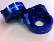 Blueprint Axle Blocks KTM 65 BLUE
