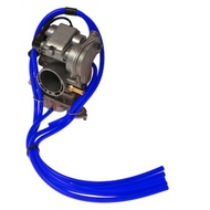 BLUE 1 Metre Silicone Carburettor Pipe