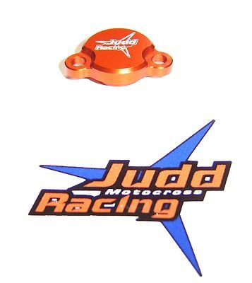 Orange Rear Brake Reservoir Cover KTM SX 50/65/85 2003> Judd Racing Brand