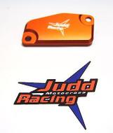 Orange Front Brake Master Cylinder Cover KTM 65SX 2014> and 85SX 2013>