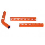 KTM SX 125 2011-2015 Samco Sport Silicone Hose Kit -  Orange
