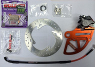 GOLDfren Oversized KTM SX 85 Rear Brake Kit