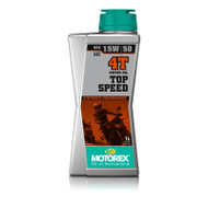 MOTOREX Motor Oil - Top Speed 4T | 15/50W 1 Litre (M4T1)