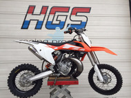 NEW! HGS KTM 65 /TC65 2016 onwards Complete Exhaust System (NB: Bike not included)