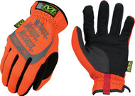 Mechanix Fast Fit Gloves Orange XL