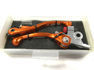 Flexible Lever Set 2014-15 TC125, KTM 125 Orange