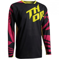 THOR YOUTH FUSE AIR DAZZ JERSEY MAGENTA/ YELLOW
