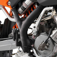 KTM 65 Frame Guards Black