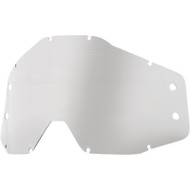 100% GOGGLES FORECAST SYSTEM - REPLACEMENT LENS - CLEAR - NO BUMPS