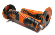 Domino Snake Grip, Full Diamond Black / Orange