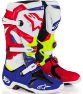 Alpinestars Tech 10 Adult Boot Blue/Red - A1001473009