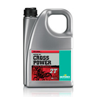 Motorex Motor Oil - Cross Power 2T | 4 Litre (MCP002)