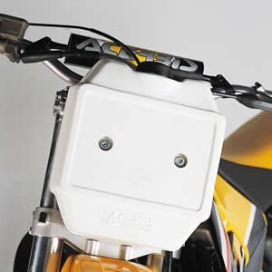 Acerbis Front Auxiliary 3 Litre White Fuel Tank 0002684.030