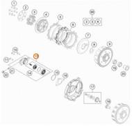 Clutch Slave Cylinder O Ring KTM 85SX 65SX Husqvarna TC85