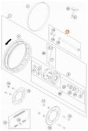 Wheel Spindle KTM 50SX 2009-2019 46010085044