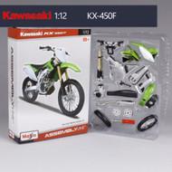 Model Kawasaki KX450F 1/12 scale 24pcs Build A Bike