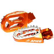 Apico KTM Pro Bite Footpeg - Orange