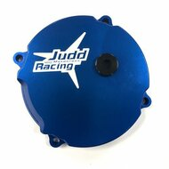 Judd Racing Clutch Cover with adjustment - Blue KTM 50SX 2009> Husqvarna TC50 2017>