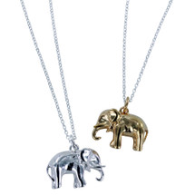 Reeves & Reeves - Sterling Silver Elephant Necklace