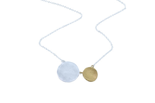 Reeves_and_Reeves_sterling_silver_gold_plating_penny_necklace_coins