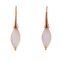 VLUM - Épineuses Rose Gold And Purple Earrings