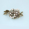 Ripley antique gold bridal hair clip