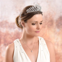 'Catalina' Traditional Statement Tiara