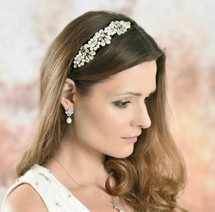 Doreen handmade vintage inspired side headpiece
