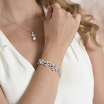 Velma Statement bridal bracelet