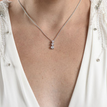 Gail Circular Diamante Necklace