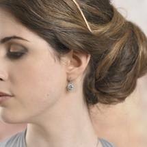 Skye Circular Drop Earrings