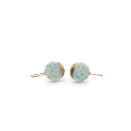 oei_ceramics_handmade_jewellery_earrings_porcelain_mint_green_white_gold