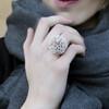 tzuri_gueta_ring_silicone_statement_nude_lilac_handmade_eye_catching