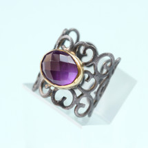 tonia_makri_amethyst_purple_stone_ring_statement_fashion_jewellery_handmade