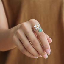sterling_silver_lotus_flower_jade_stone_green_ring_handmade