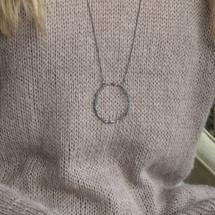 Tina_Kotsoni_handmade_sterling_silver_oxidised_circle_long_necklace_Greece_Greek